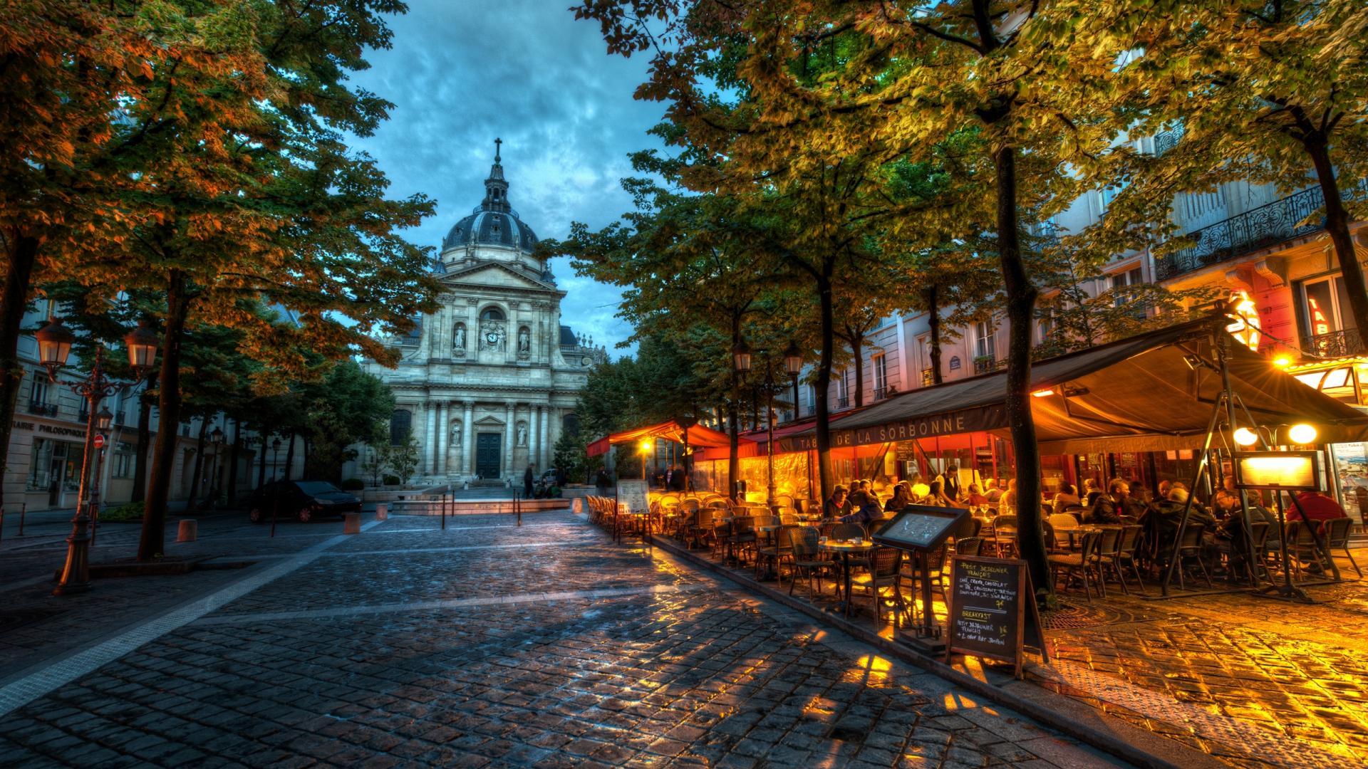 到巴黎索邦大学感受学院氛围 法国文学教学的殿堂,欧洲最古老的大学之