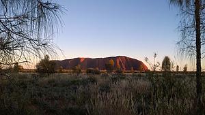 澳大利亚 10天 背靠澳洲沙漠,眼望星空