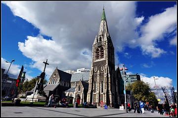 新西兰基督城旅游