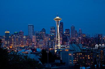 美国西雅图旅游