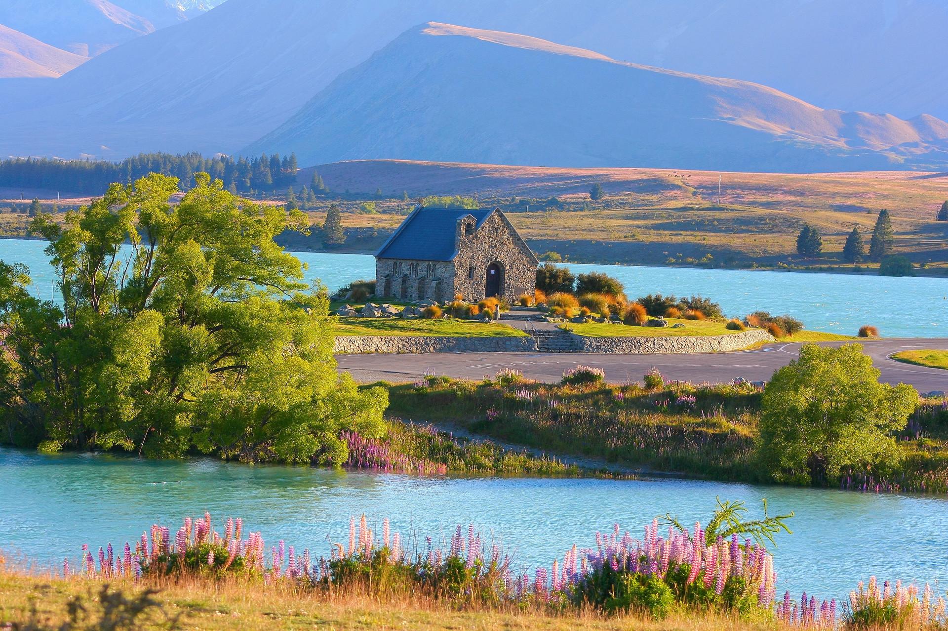 自驾新西兰南岛,纵情于湖光山色中