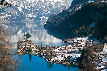 瑞士因特拉肯旅游