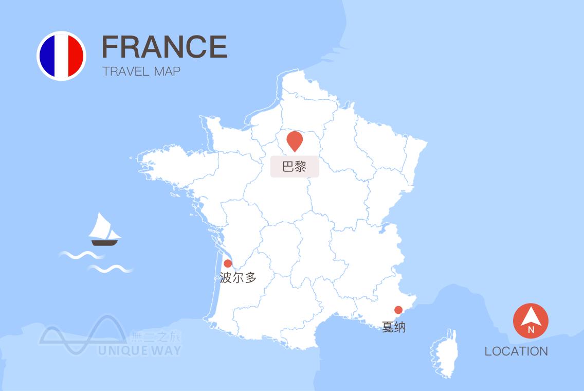 2017法国地图