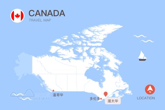 2017加拿大地图