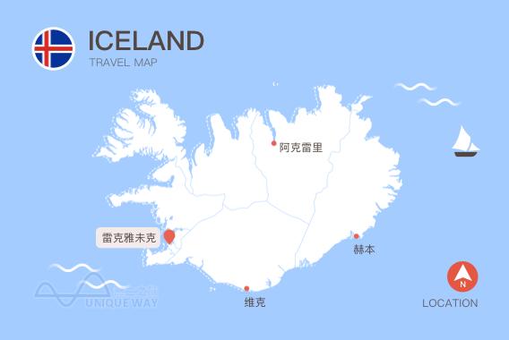 2017冰岛地图