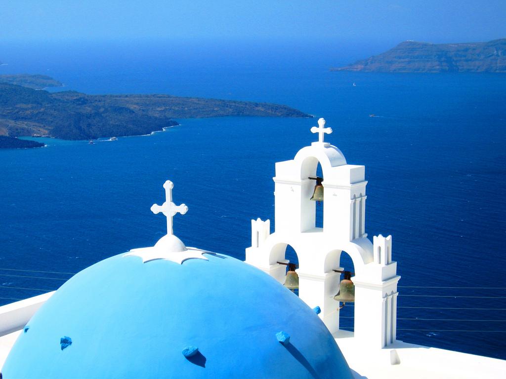 圣岛蓝顶教堂