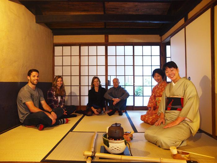 参加京都Tea ceremony En茶室的品茶之旅(英语解说)