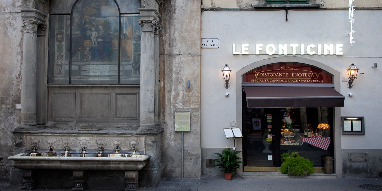 佛罗伦萨的水泉餐厅