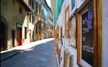 佛罗伦萨奥尔特拉诺区圣神广场