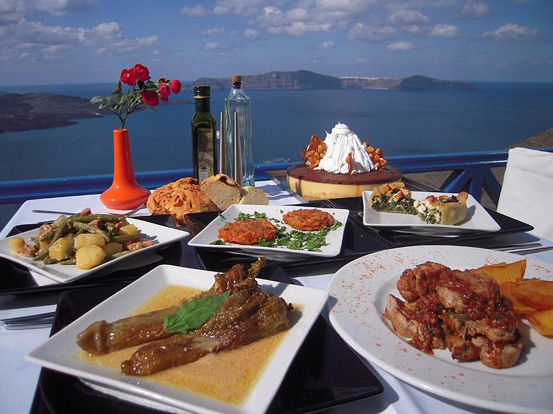 费拉Fanari悬崖餐厅