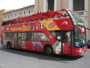 参加罗马观光巴士一日游