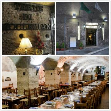 Ristorante Terme di Diocleziano餐厅
