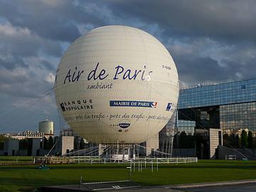 参加Air Ballon公司乘坐热气球的活动