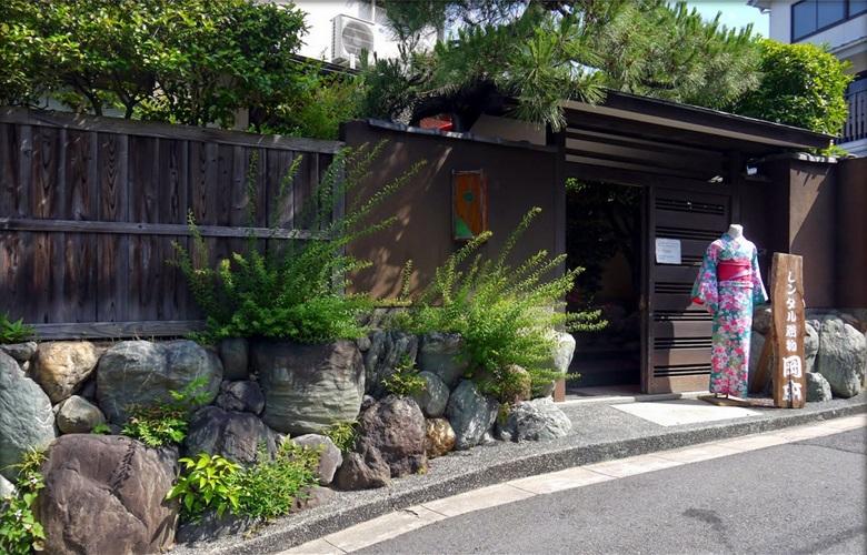 在冈本织物店总店体验和服