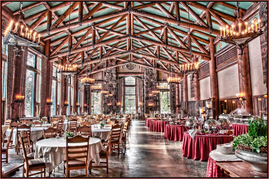 Ahwahnee hotel dining