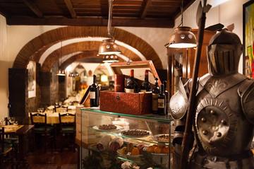 Hostaria del Bricco传统意式餐厅