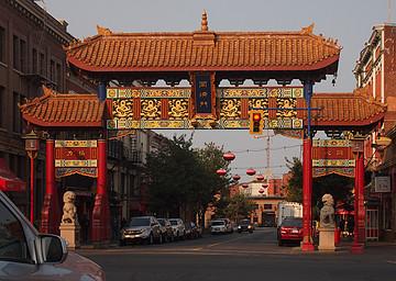 维多利亚唐人街