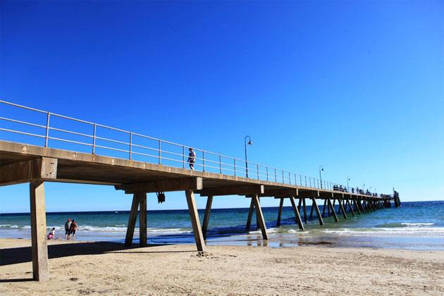 澳大利亚阿德莱德Glenelg海滩