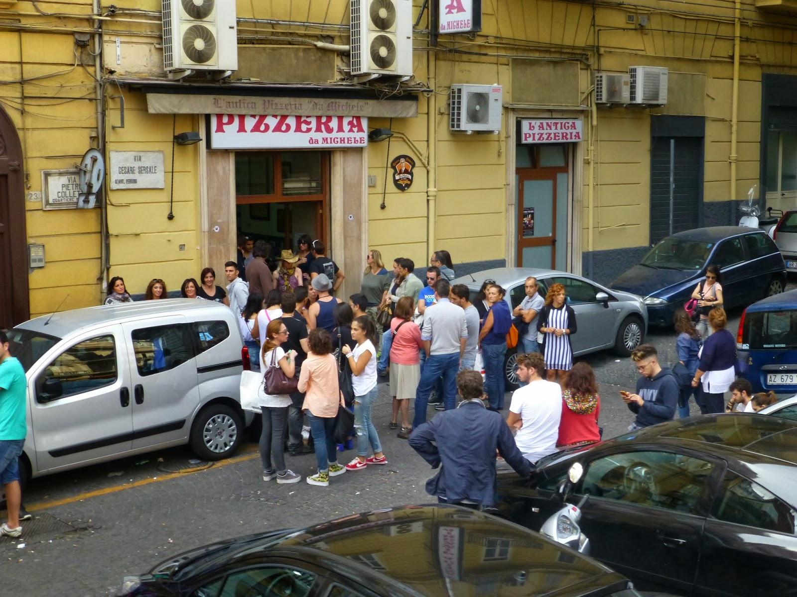 那不勒斯百年Pizza老店-Da Michele