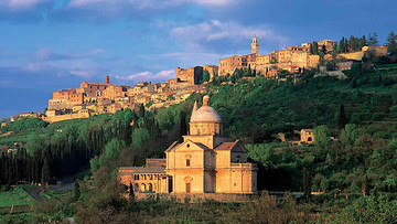 从罗马出发参加托斯卡纳风光一日游