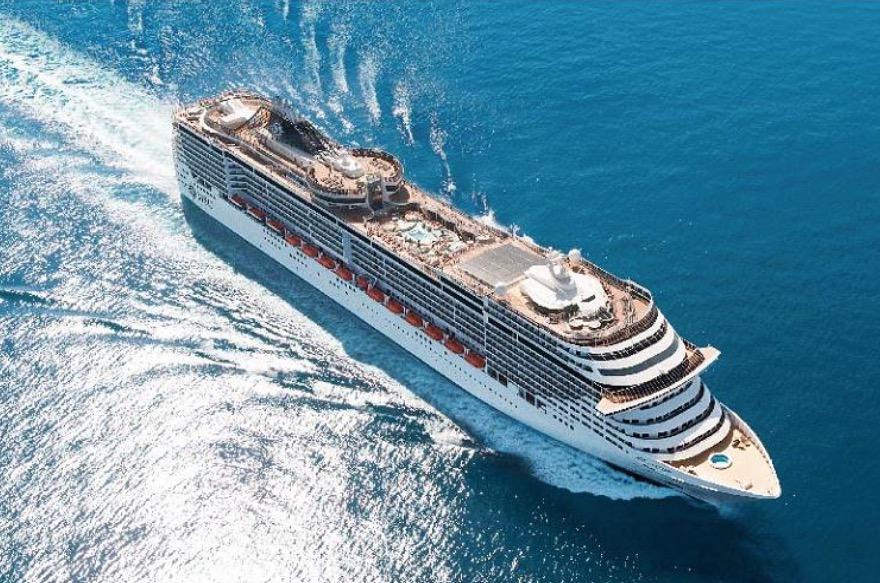 参加MSC地中海邮轮公司的华丽号畅游地中海