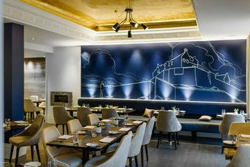爱丁堡城堡露台餐厅
