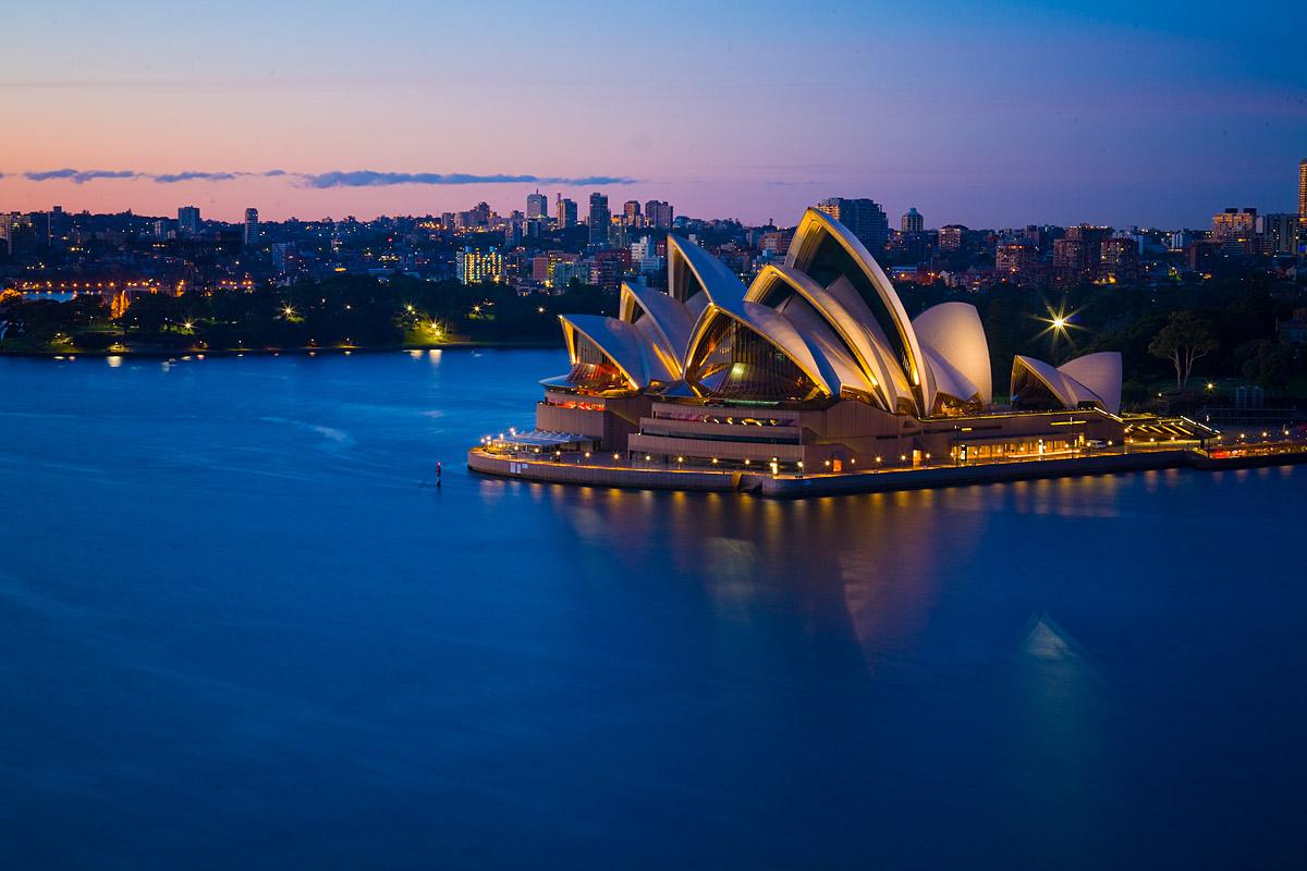 澳大利亚名胜_悉尼海港大桥攻略,悉尼海港大桥简介图片,门票价格,开放时间 ...