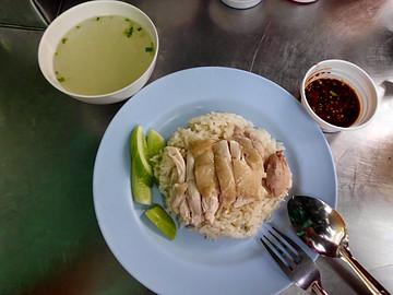 水门肥鸡饭