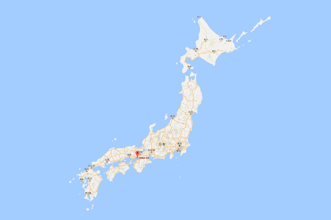 2017日本地图