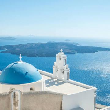 希腊圣托里尼旅游