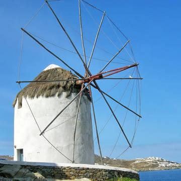 希腊米克诺斯岛旅游