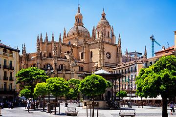 西班牙塞戈维亚旅游
