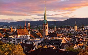 瑞士苏黎世旅游