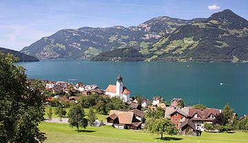 瑞士卢塞恩旅游