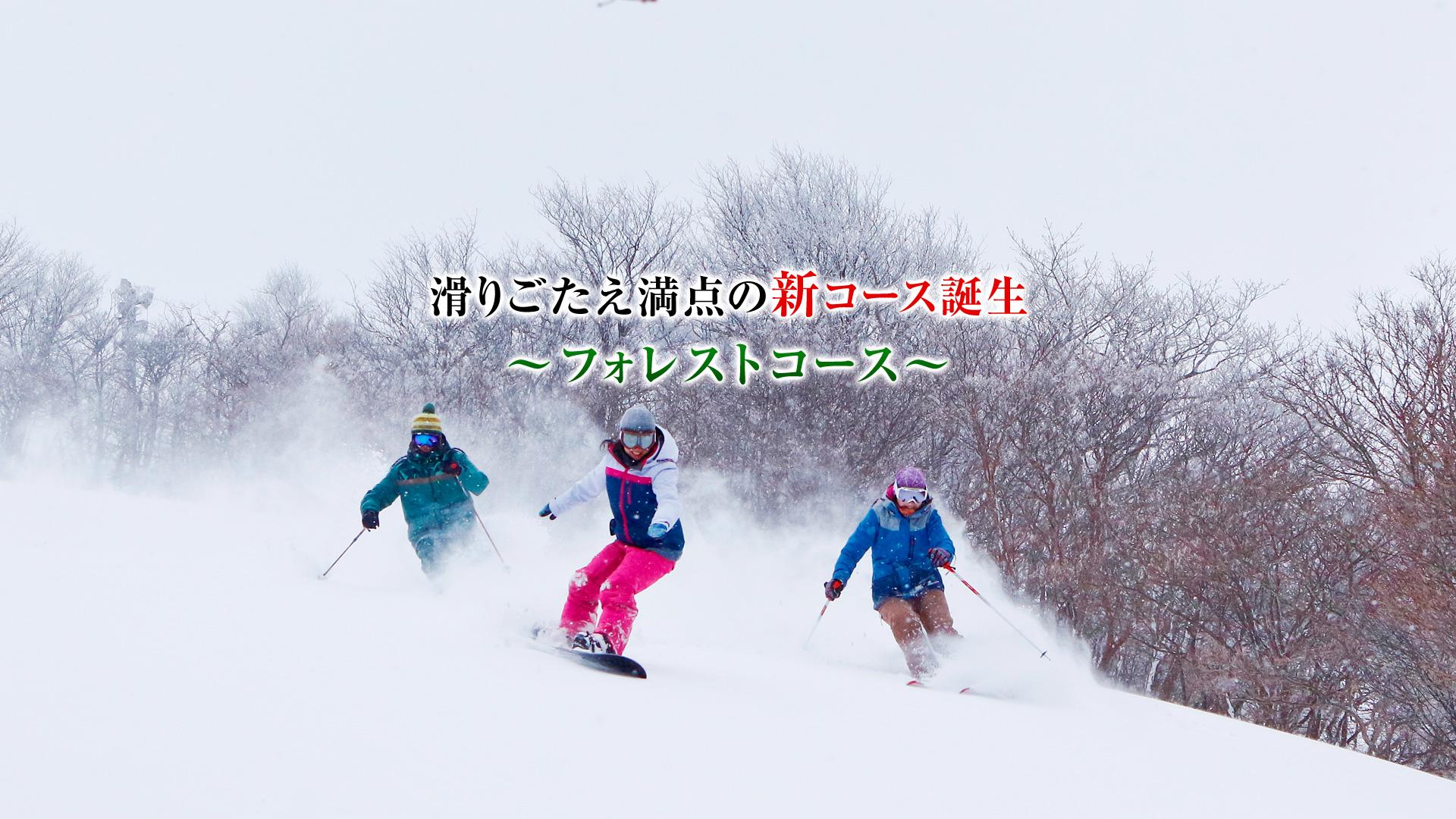琵琶湖谷滑雪