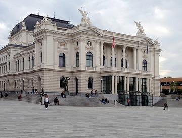 参观苏黎世歌剧院