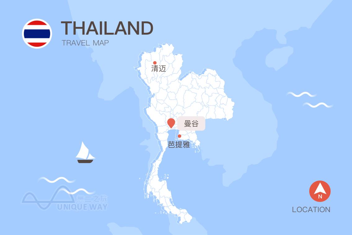 2017泰国地图