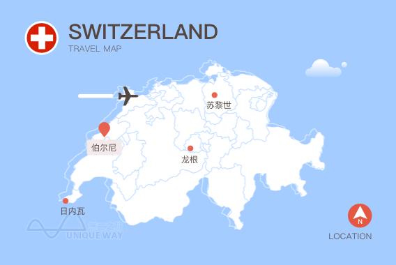 2017瑞士地图