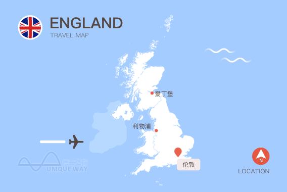 2017英国地图
